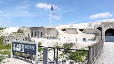 Fort de la pompelle route touristique de la marne guide du tourisme du grand est