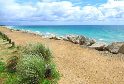 Fouesnant plage de cleut rouz routes touristiques dans le finistere guide du tourisme en bretagne