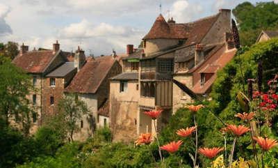 Gargilesse dampierre vieilles maisons plus beau village de france les routes touristiques dans l indre guide du tourisme centre val de loire