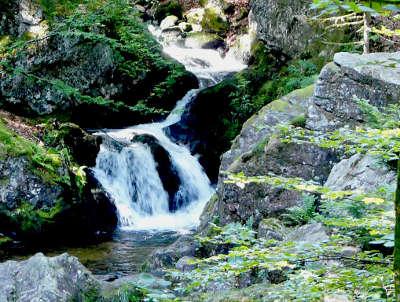 Gerardmer les cascades du tendon routes touristiques des vosges guide du tourisme de lorraine