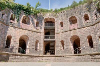 Giromagny fort dorsner routes touristiques du teritoire de belfort guide du tourisme de franche comte