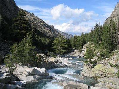 Gorges et vallee de la restonica routes touristiques en haute corse guide du tourisme de la corse