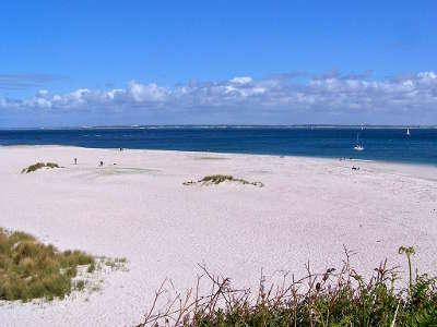 Groix la plage des grands sables routes touristiques dans le morbihan guide du tourisme en bretagne