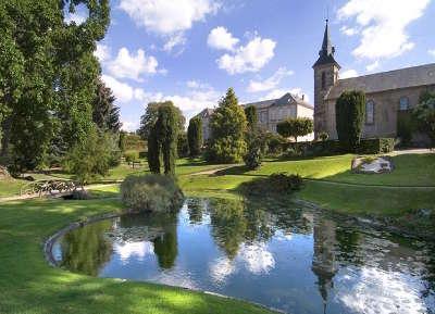 Gueret le jardin public ferdinand villard routes touristiques de la creuse guide du tourisme du limousin