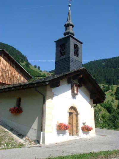 Hameau de boudin eglise routes touristiques de savoie guide touristique de rhone alpes