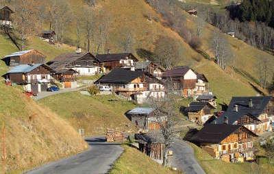 Hameau de boudin routes touristiques de savoie guide touristique de rhone alpes