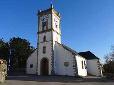Ile aux moines eglise saint michel routes touristiques dans le morbihan guide du tourisme en bretagne