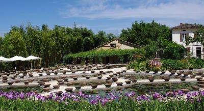 Jardin des nenuphars latour marliac a temple sur lot jardin remarquable sur la routes touristiques lot et garonne guide du tourisme nouvelle aquitaine