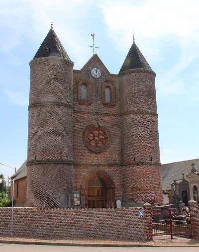 L eglise sainte catherine de monceau sur oise routes touristique de l aisne guide du tourisme de picardie