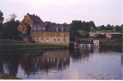 L helpe mineure et moulin de l abbaye de maroilles l avesnois guide touristique du nord nord pas de calais