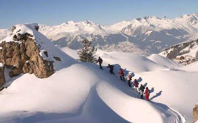 La plagne station ski randonnee en raquette routes touristiques de savoie guide touristique de rhone alpes