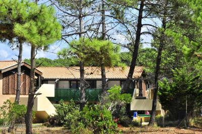 Lacanau hebergement 1 residence la forestiere route touristique aquitaine