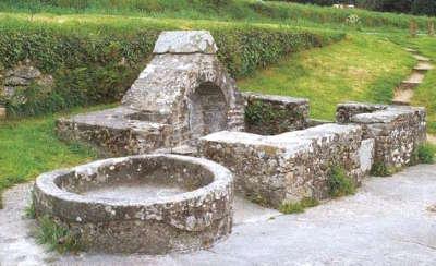 Landaul lavoir de st denaul routes touristiques dans le morbihan guide du tourisme en bretagne