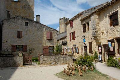 Larressingle cite fortifie routes touristiques du gers guide du tourisme midi pyrenees