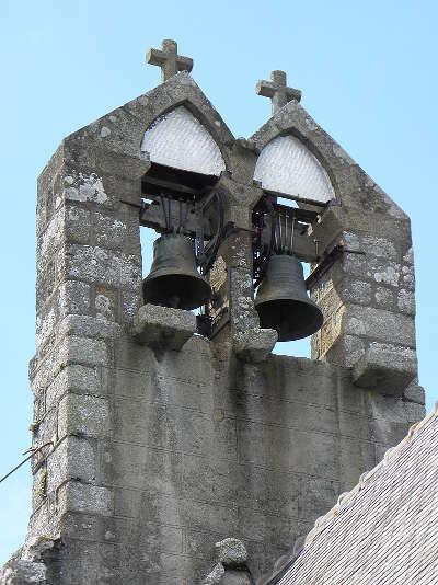 Le clocher mur de l eglise saint georges routes touristiques dans l ille et vilaine guide du tourisme en bretagne