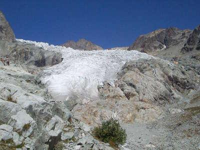 Le glacier blanc parc national des ecrins guide touristique