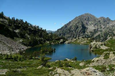Le lac trecolpas et le mont pelago parc national du mercantour guide du tourisme de la provence alpes cote d azur