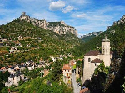 Le rozier routes touristique de la lozere guide du tourisme du languedoc roussillon