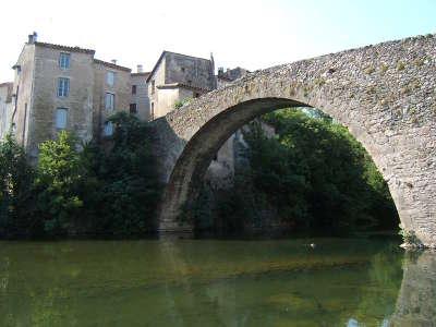 Le vigan le vieux pont routes touristique de l herault guide du tourisme du languedoc roussillon