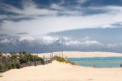 Lege cap ferret plage routes touristiques en gironde guide du tourisme nouvelle aquitaine