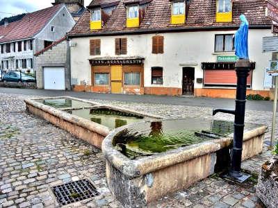 Lepuix fontaine routes touristiques du teritoire de belfort guide du tourisme de franche comte