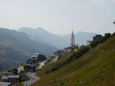 Les menuires station ski en ete routes touristiques de savoie guide touristique de rhone alpes 1