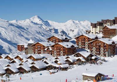 Les menuires station ski en hivers routes touristiques de savoie guide touristique de rhone alpes