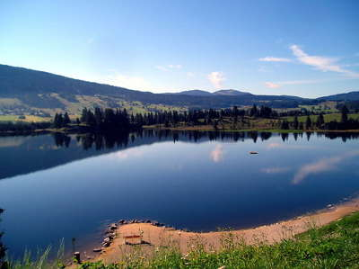 Les rousses le lac les routes touristiques du jura guide touristique de franche comte