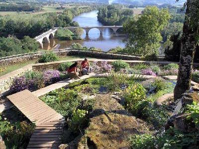 Limeuil classe plus beaux villages de france les jardins panoramiques routes touristiques de dordogne guide du tourisme de nouvelle aquitaine