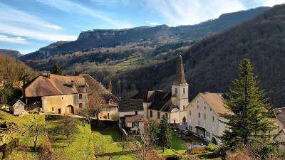 Lods haut du village plus beaux villages routes touristiques du doubs guide touristique franche comte