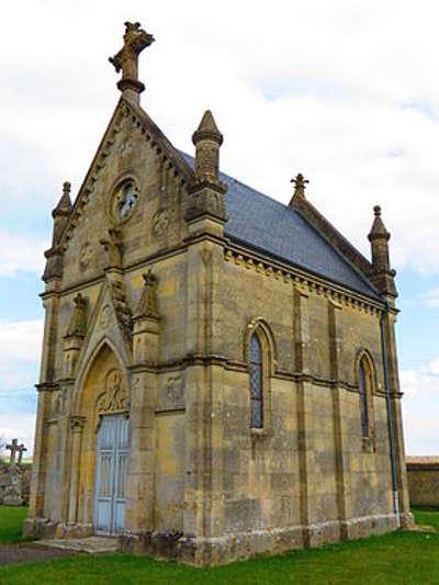 Louppy le chateau la chapelle du cimetiere routes touristiques de la meuse guide du tourisme de la lorraine