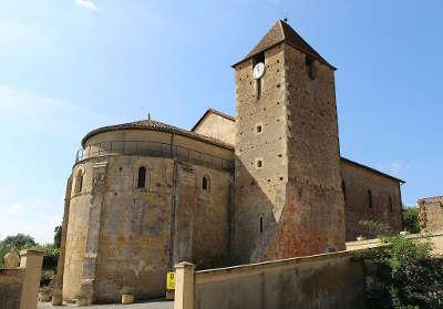 Madiran l eglise sainte marie routes touristiques de gers guide du tourisme midi pyrenees