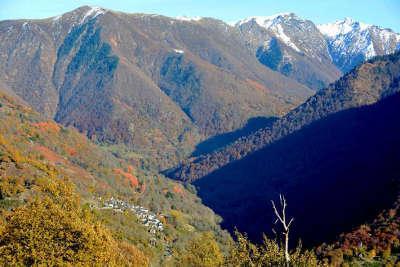 Melles paysages des pyrenees routes touristiques de hautes garonnes guide du tourisme midi pyrenees