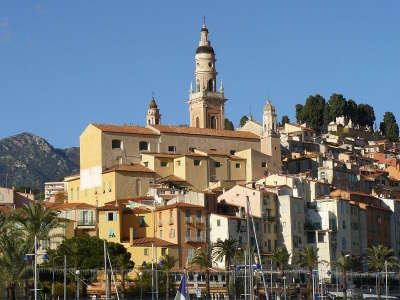 Menton ville d art et histoire basilique saint michel archange routes touristique des alpes maritime guide du tourisme provence alpes cote d azur