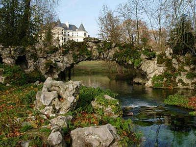 Mereville pont de rochers et sa cascade routes touristiques de essonnes guide touristique de ile de france