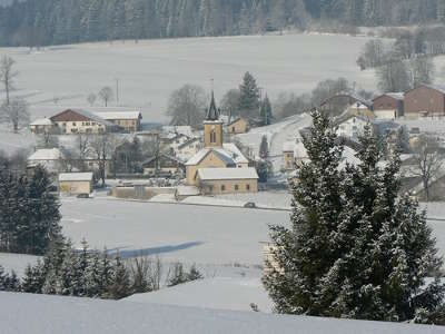 Metabief les hopitaux neufs sous la neige routes touristiques du doubs guide touristique franche comte