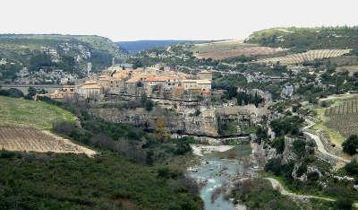 Minerve plus beaux villages routes touristiques de herault guide touristique du languedoc roussillon
