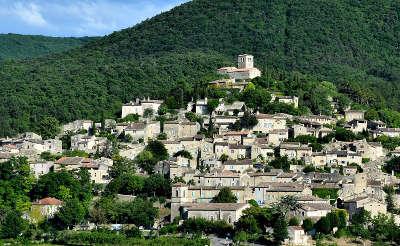 Mirmande plus beau village village perche routes touristiques de la drome guide touristique rhone alpes