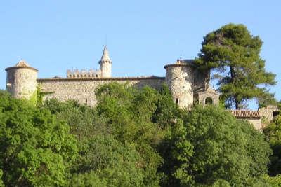 Montarnaud le chateau routes touristique de l herault guide du tourisme du languedoc roussillon