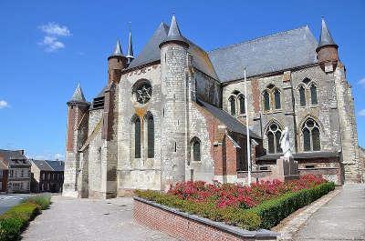Montcornet l eglise fortifiee saint martin de montcornet routes touristique de l aisne guide du tourisme de picardie