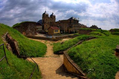Montmedy la citadelle routes touristiques de la meuse guide du tourisme de la lorraine