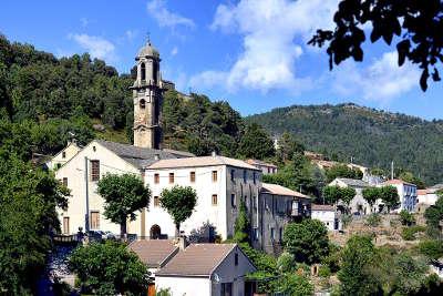 Morosaglia convento routes touristiques en haute corse guide du tourisme de la corse