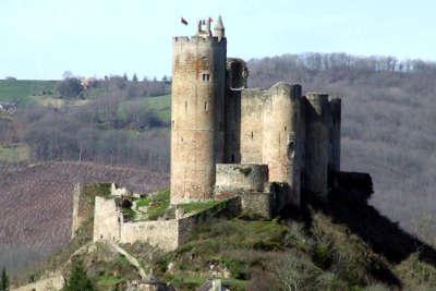 Najac plus beaux villages de france forteresse royale de najac routes touristiques de aveyron guide du tourisme midi pyrenees