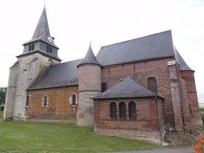 Nampcelles la cour l eglise fortifiee saint martin de nampcelles la cour routes touristique de l aisne guide du tourisme de picardie