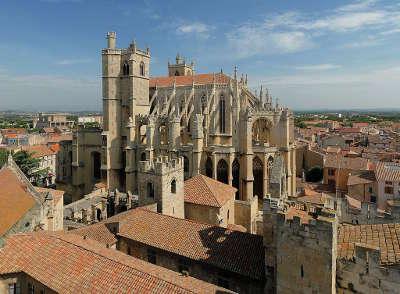 Narbonne cathedrale saint just et saint pasteur ville dart et d histoire routes touristiques de aude guide du tourisme d occitanie