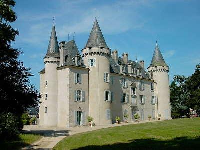 Nexon le chateau routes touristiques de la haute vienne guide du tourisme du limousin
