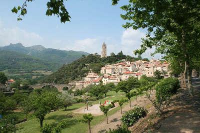 Olargues plus beaux villages routes touristiques de herault guide touristique du languedoc roussillon