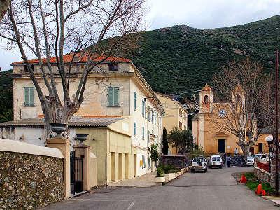 Olmeta di tuda vue du village routes touristiques en haute corse guide du tourisme de la corse