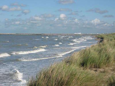 Oye plage routes touristiques du nord guide touristique nord pas de calais