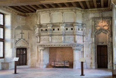 Palais jacques coeur cheminee les routes touristiques dans le cher guide du tourisme centre val de loire
